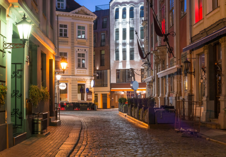Старая Рига - достопримечательности Латвии