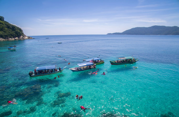 Что посмотреть в Малайзии - Острова Перхентиан
