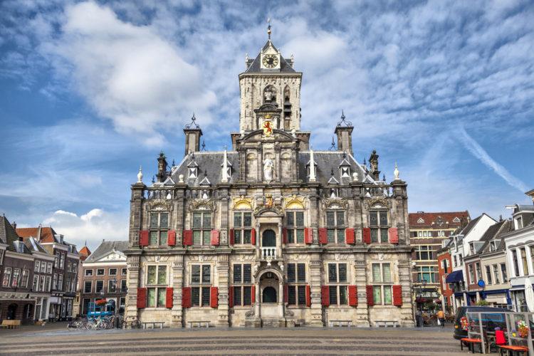 Мэрия в Делфте - достопримечательности Нидерландов