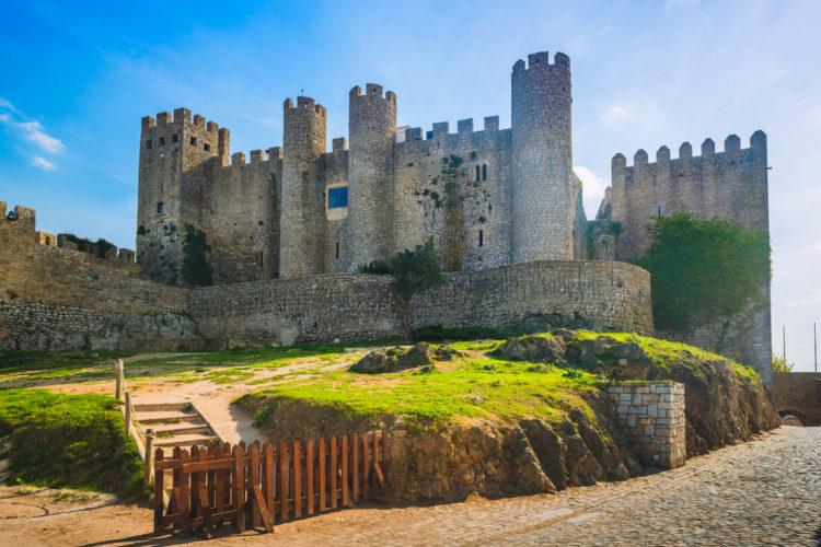 Замок Обидуш - достопримечательности Португалии