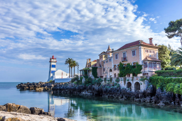 Город-курорт Кашкайш - достопримечательности Португалии