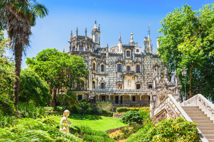Кинта да Регалейра - достопримечательности Португалии