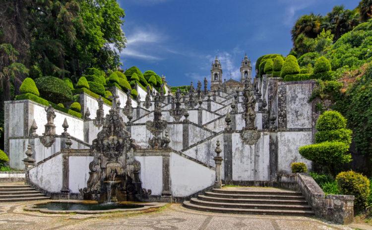 Что посмотреть в Португалии - Святилище Бон-Жезуш-ду-Монти