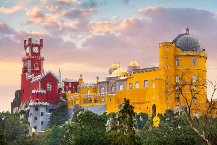 Дворец Пена - достопримечательности Португалии