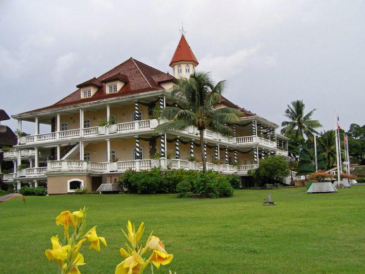 Отель в живописном уголке