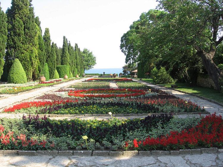 Ботанический сад в Балчике в Болгарии