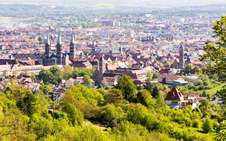 Панорама города Бамберга