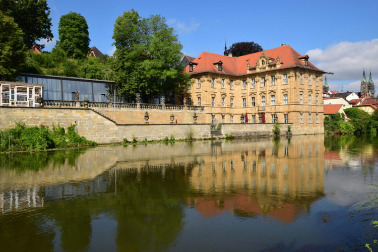 Здание музея Виллы Конкордия в Бамберге