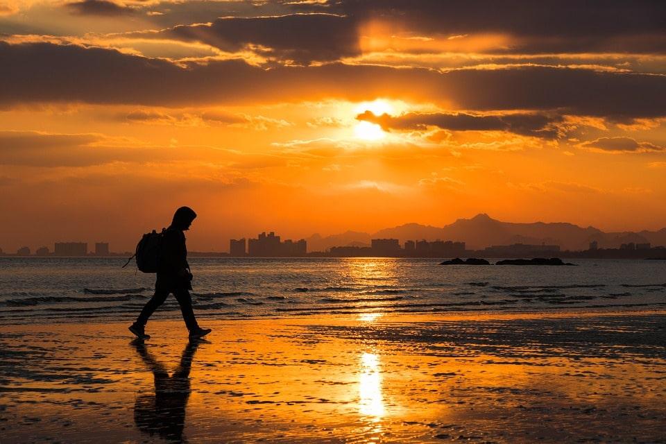 Отдых на желтом море в Китае