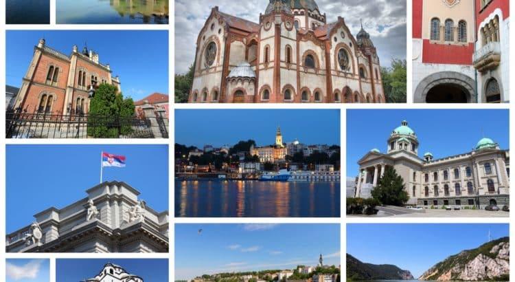 Достопримечательности Сербии