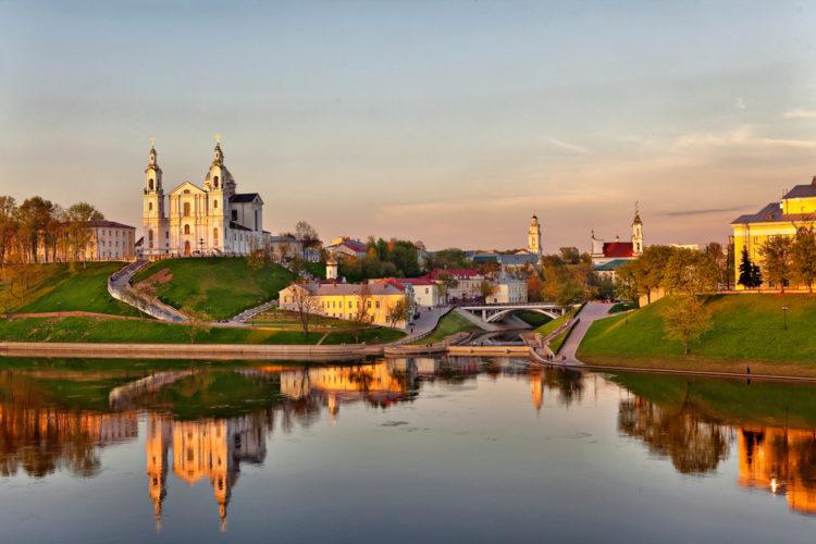 Карта достопримечательностей Беларуси, Карта самостоятельного путешественника по Беларуси, Карта для активного туризма по Беларуси.