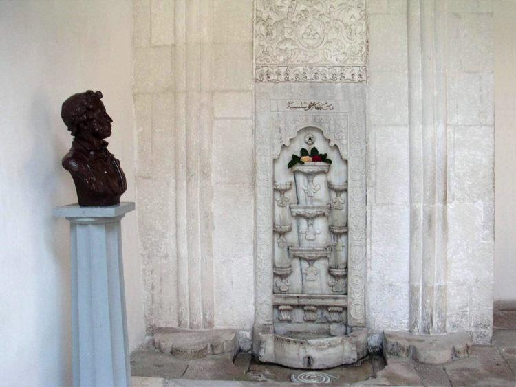 Фонтан слёз в Ханском дворце