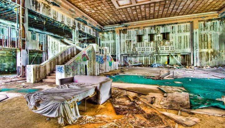 Заброшенные отели Турции