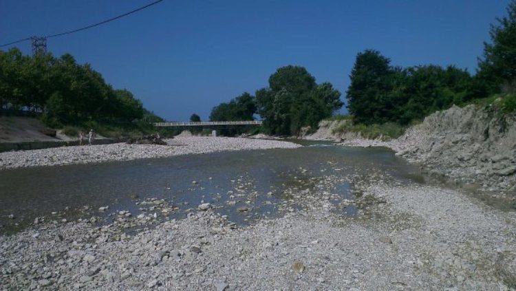 Река Агой, Краснодарский край, Россия,