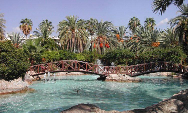 Аквапарк в Аланье в Турции