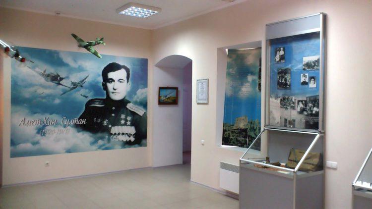 Музей Амет-Хана Султана дважды гнроя Советского Союза в Алупке в Крыму