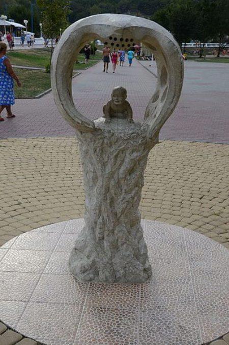 Набережная Архипо-Осиповки в Краснодарском крае в России