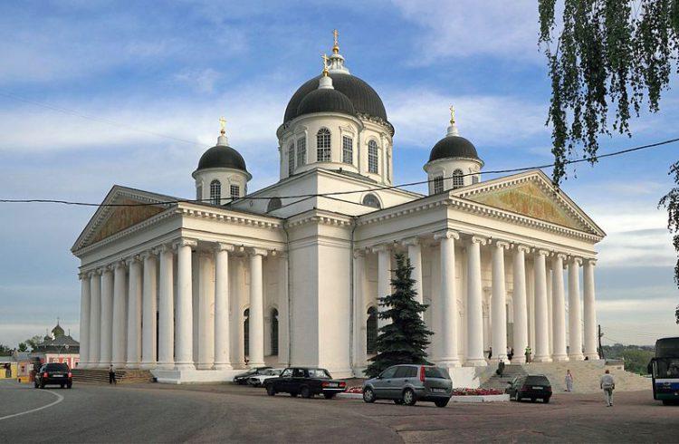 Воскресенский собор в Арзамасе, Нижегородская область, Россия