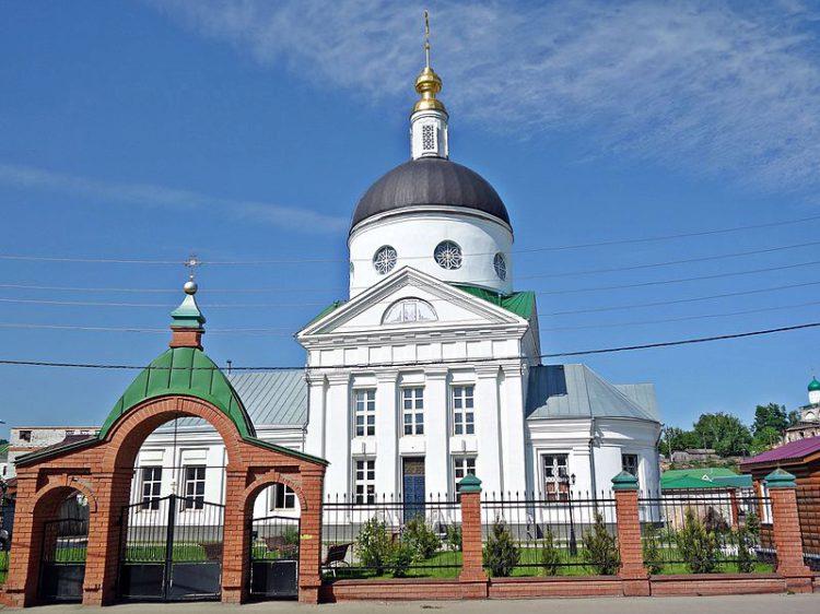 Церковь Владимирской иконы Божией Матери. Арзамас, Нижегородская область, Россия