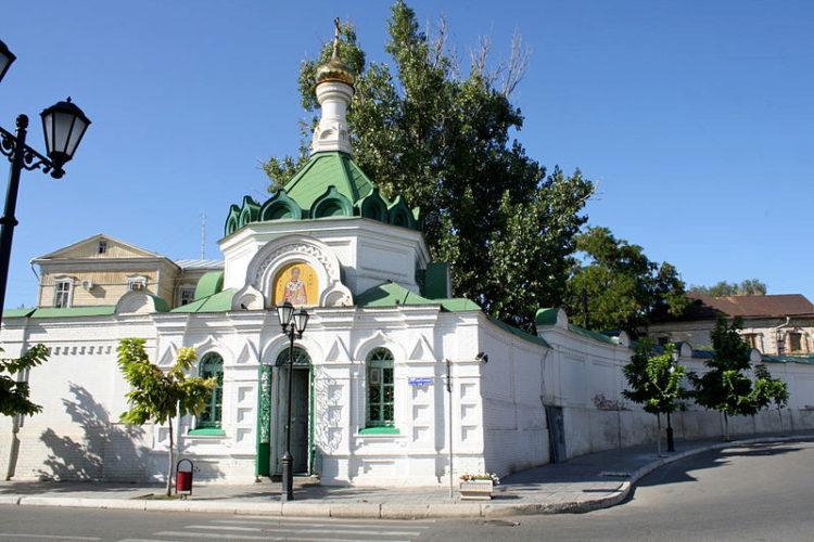 Благовещенский (Новодевичий) монастырь в Астрахани, в России