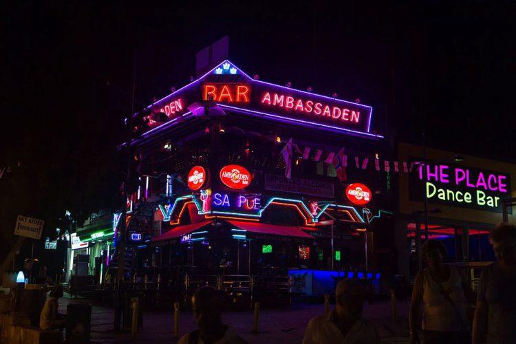 Ночные клубы в Айя-Напе на Кипре