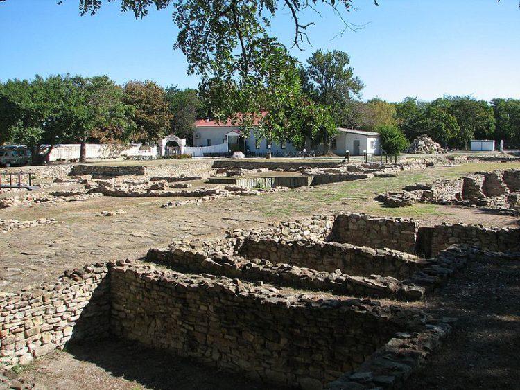 Раскопки античного города Горгиппии. Археологический музей «Горгиппия» в Анапе, Россия