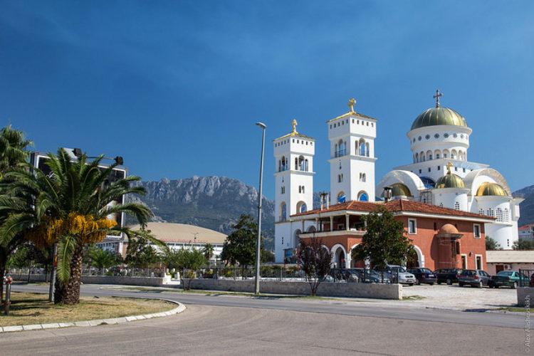 Храм Святого Иоанна Владимира в городе Бар, в Черногории