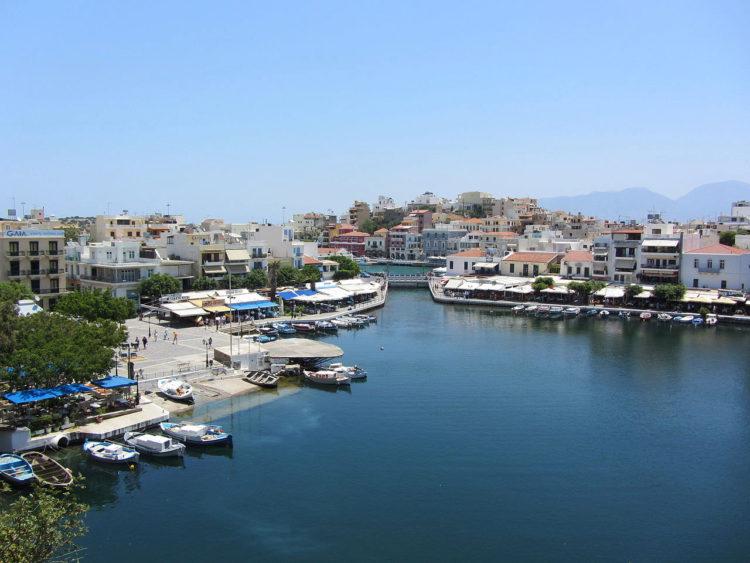 Озеро Вулисмени в Айос-Николаос на Крите