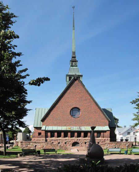 Церковь Святого Георгия в Мариехамне, Аландские острова, Финляндия
