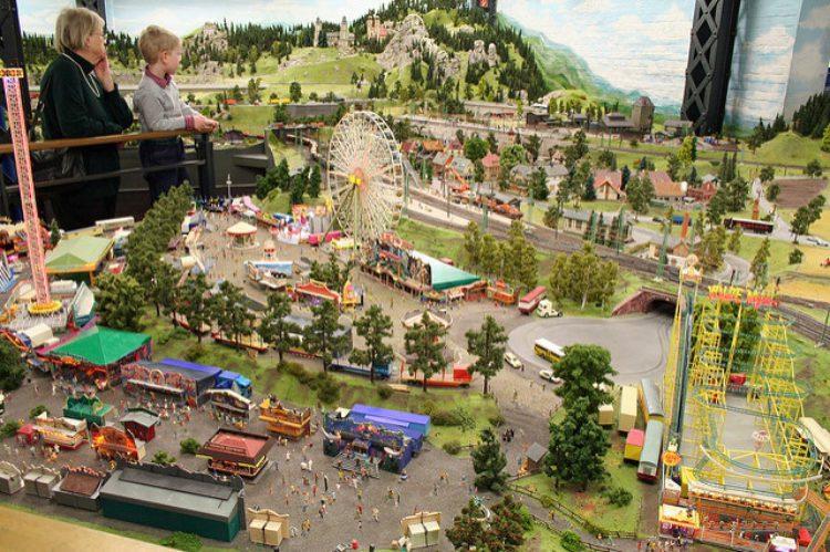 Парк миниатюр в Алуште, Россия