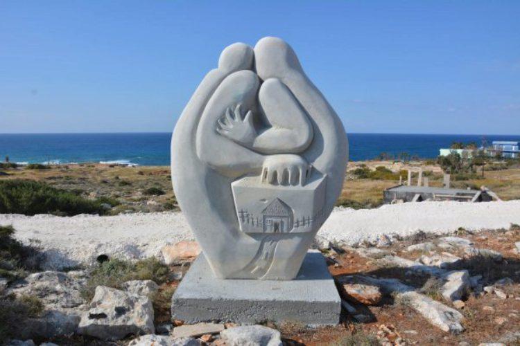 Парк скульптур под открытым небом в Айя-Напе на Кипре