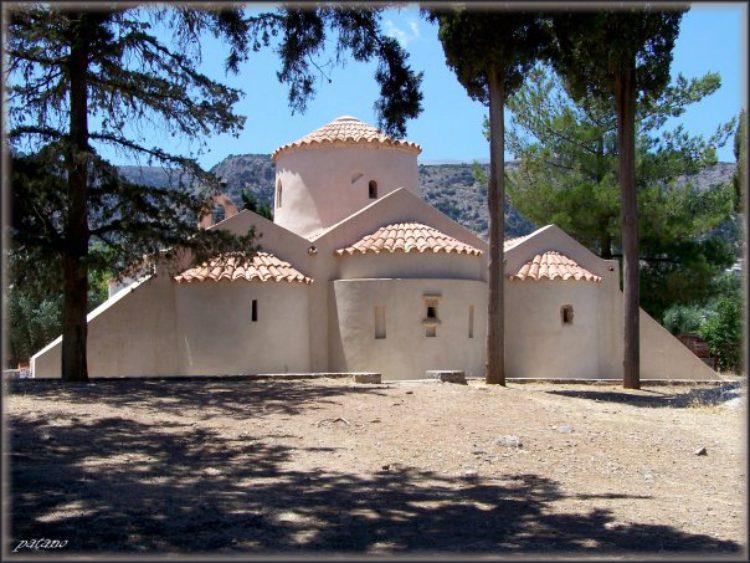 Церковь Панагия Кера в Крице на Крите