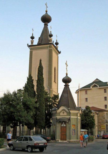 Храм во имя всех Крымских святых и Феодора Стратилата в Алуште