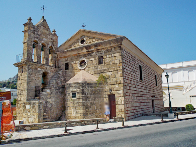 Церковь Святого Николая в Айос-Николаосе на Крите