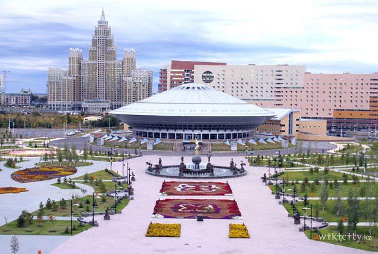 Цирк Астаны - столицы Казахстана