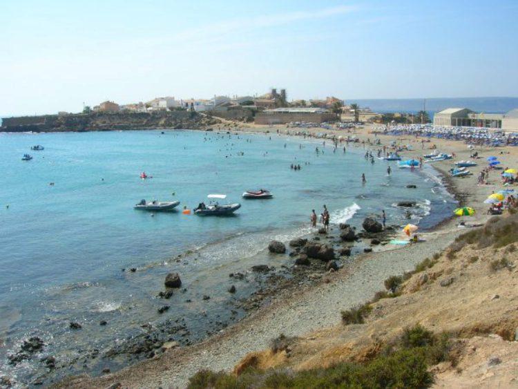 Остров Табарка в Аликанте в Испании