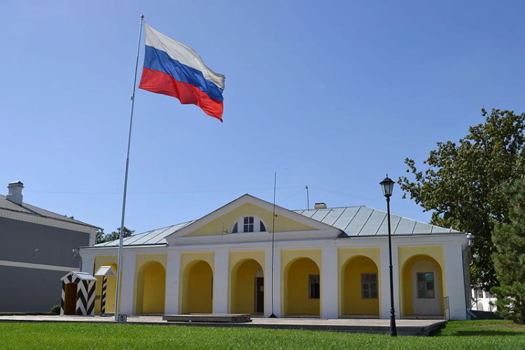 Гауптвахта в Астраханском Кремле, Астраханская область, Россия