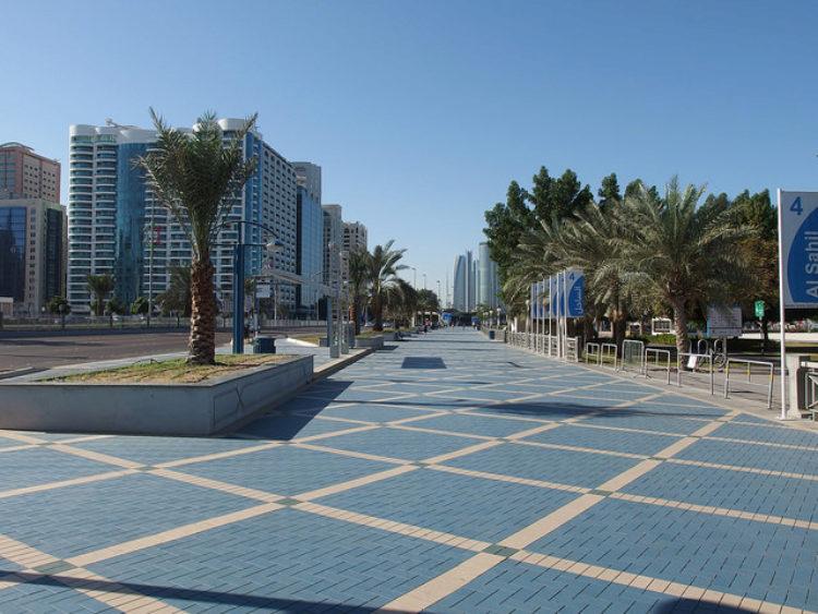 Абу-Даби улица Корниш