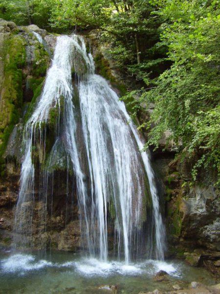 Водопад Джур-Джур - досторотмечательность Алушты