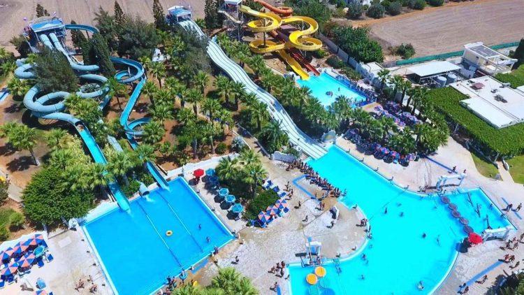 что посмотреть в Айя-Напе - Тематический аквапарк в Айя-Напе, Кипр