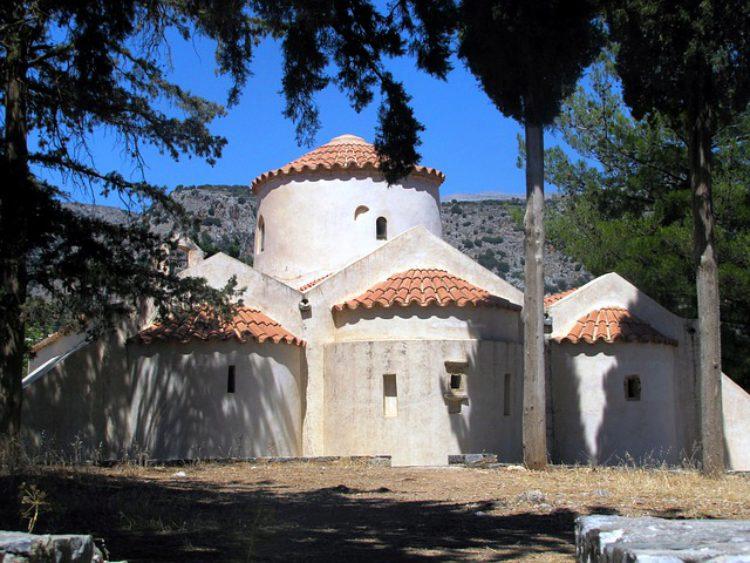 Церковь Панагии Керы, Лассити, Крит, Греция