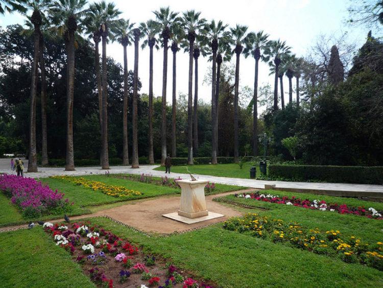 Национальный сад в Афинах - достопримечательности Афин