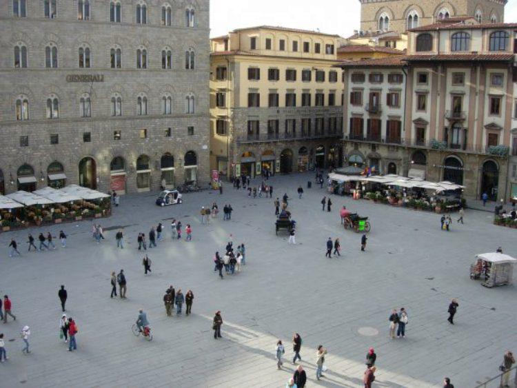 Площадь Синьории (Пьяцца делла Синьория) во Флоренции - достопримечательности Флоренции, Италия
