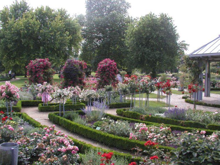 Парк Плантен-ун-Бломен (Planten un Blomen) в Гамбурге - достопримечательности Гамбурга, Германия