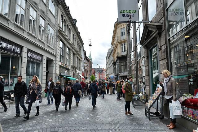 Улица Строгет в Дании
