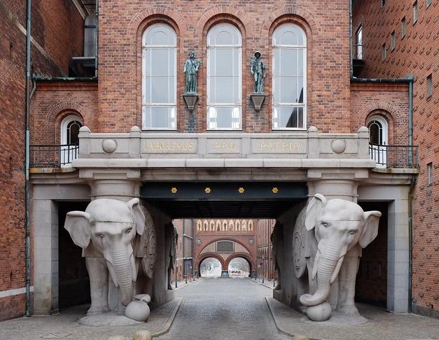 Музей пива «Carlsberg» в Дании