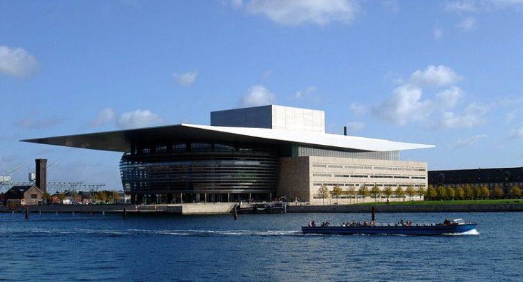 Оперный театр Копенгагена в Дании