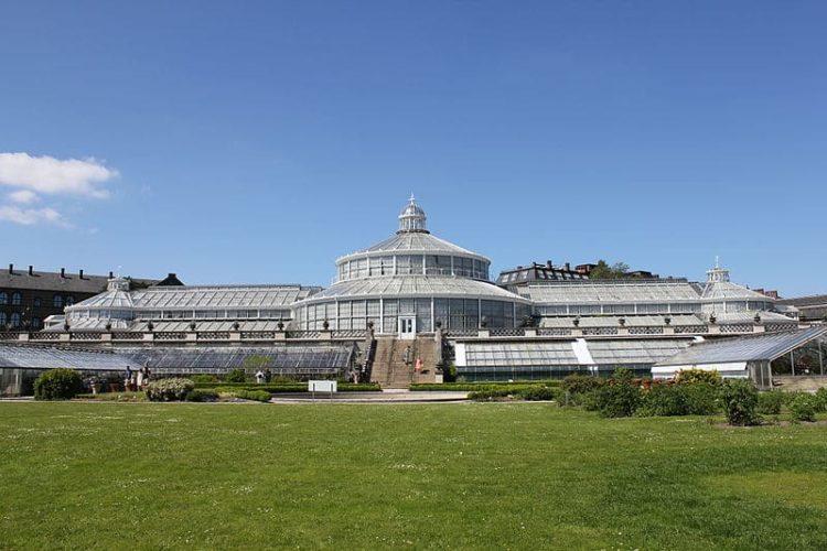 Ботанический сад а Дании
