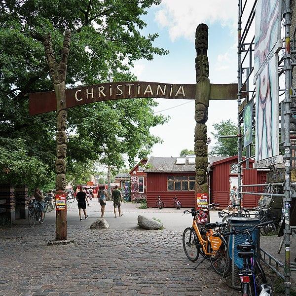 Вольный город Христиания в Дании