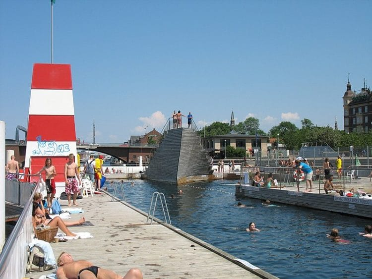 Купальня Copenhagen Harbour Baths в Дании